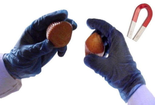 Guantes de vinilo detectables