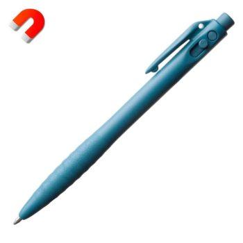 Bolígrafo detectable visible para equipos RX, retráctil con clip