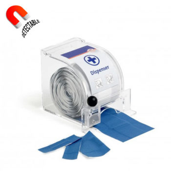 Dispensador para tiritas detectables 8mm x 5m