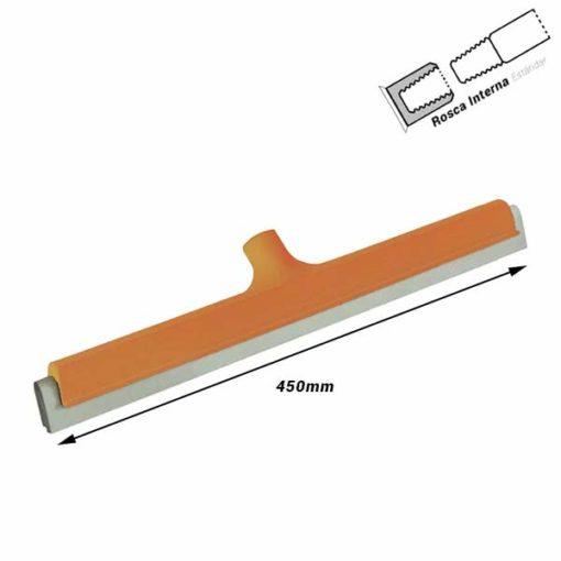 Haragan con hoja de goma 450 mm