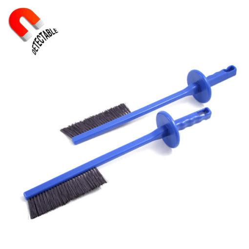 Cepillo limpia cuchillas detectable