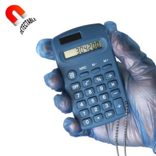 Calculadora portátil detectable