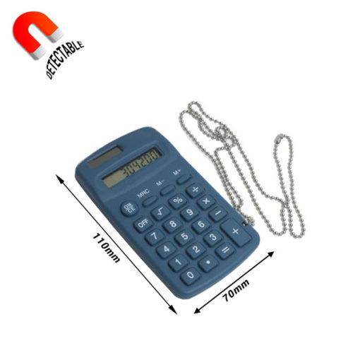Calculadora portátil detectable - Medidas