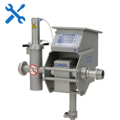 Calibración Detector de metales para embutidora