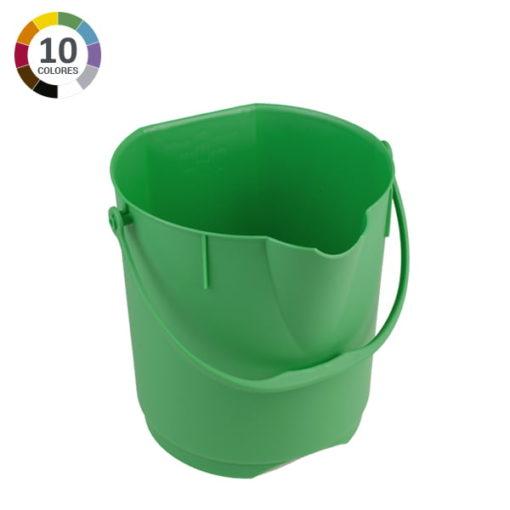 Cubo ultra higiénico de 12L - Verde