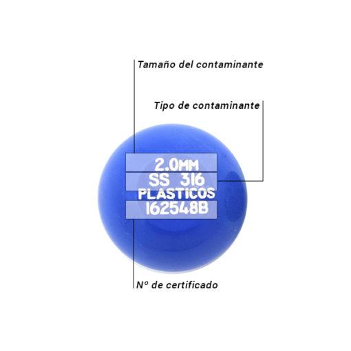 Patrón acetal bola Caracteristicas