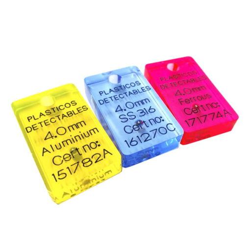 Patrón tarjeta con orificio