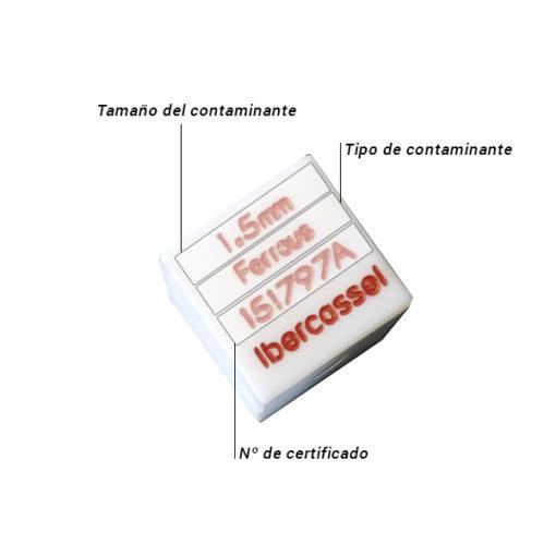 Patron PTFE Cubo Caracteristicas