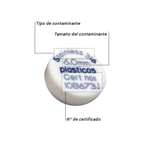 Patron PTFE Disco Caracteristicas