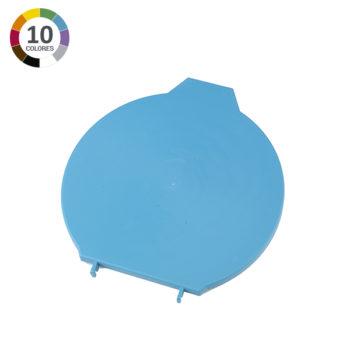 Tapa para cubo ultra higiénico de 12L - Azul