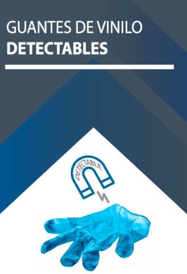 Guantes detectables