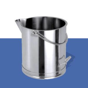 Cubo de Inox y aluminio